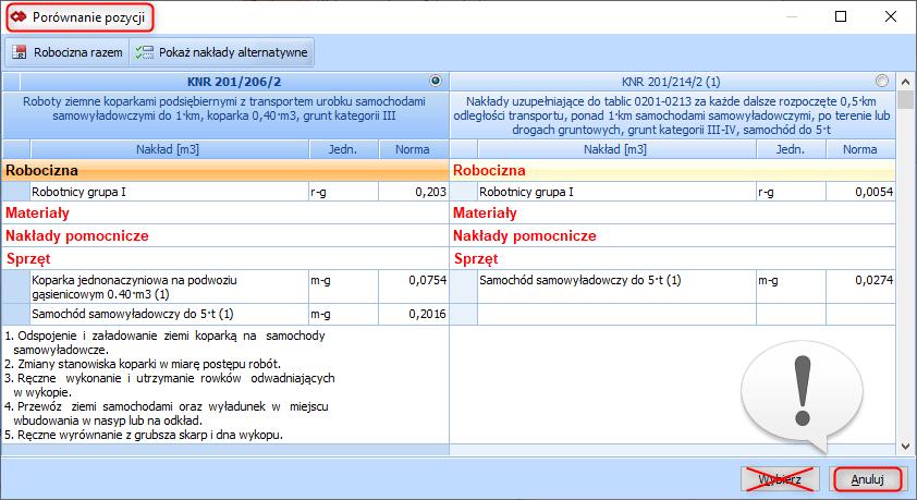 Tworzenie pozycji złożonej z poziomu przeglądania bazy katalogowej 5