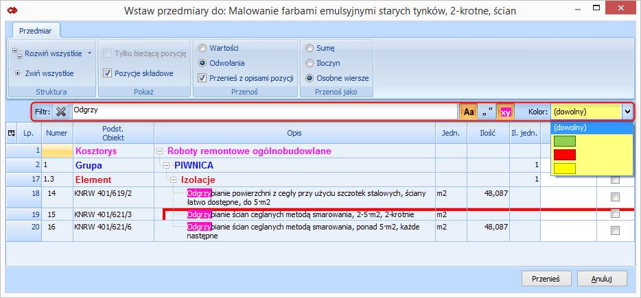 Nowości w BIMestiMate wersja 4.2.0 2