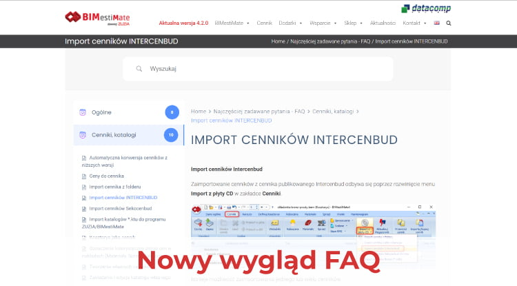 bimestimate nowy faq news