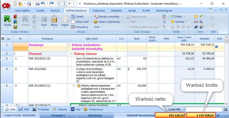 BIMestiMate wersja 4.4.0 – marzec 2021 3
