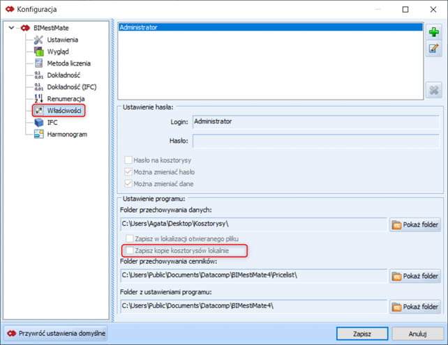 BIMestiMate wersja 4.4.0 – marzec 2021 6
