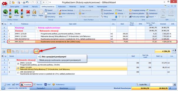 BIMestiMate 4.6.0 – październik 2021 1